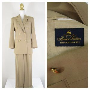 Vintage Brooks Brothers Double Breasted Pant Suit